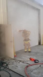 Commercial building fire on June 5th